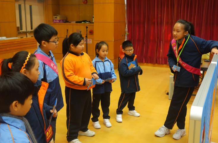<p>Each student tour-guide was talkative and professional!</p>